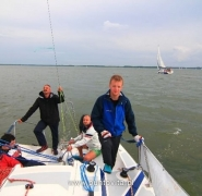 Paten żeglarza jachtowego
