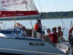 obóz dla studentów z patentem żeglarskim