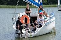 obóz szkoleniowy na patent żeglarza jachtowego dla dorosłych - Mazury