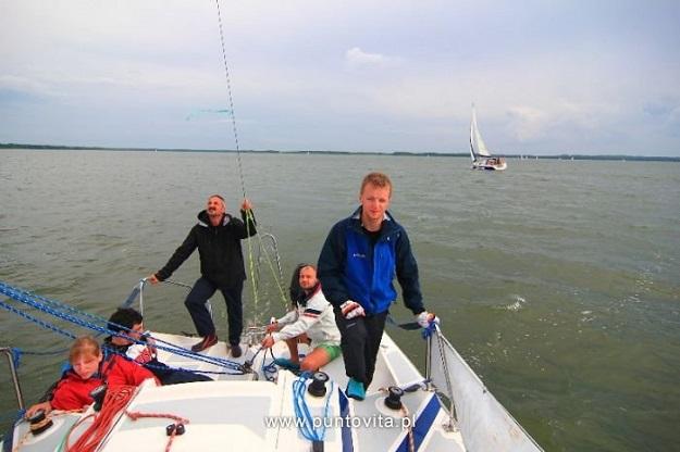 patent żeglarza jachtowego na Mazurach