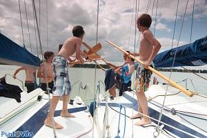 bitwy na statku - żeglarstwo
