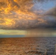 Morze Bałtyckie przed burzą
