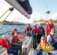 Załoga jachtu na Morzu Bałtyckim 2016