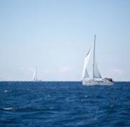 Jachty na chorwackim morzu