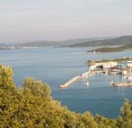 Molo w Chorwacji