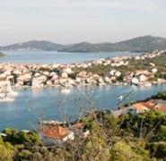 Panorama chorwackiego portu