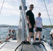 Załoga jachtu w Chorwacji