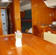 Wnętrze jachtu Elan 431