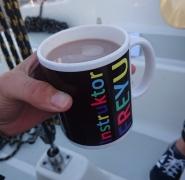 poranna kawa na obozie żeglarskim