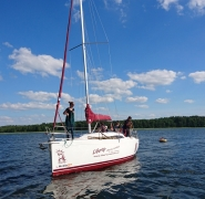 szkolenie żeglarskie Mazury 2017