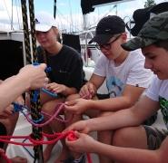 nauka węzłów żeglarskich szkoła PuntoVita