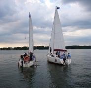 nauka żeglarstwa dla dzieci na Mazurach