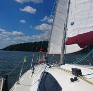 obóz żeglarski dla najmłodszych Mazury 2017