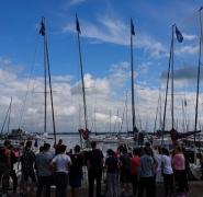 uczestnicy kolonii żeglarskich na Mazurach