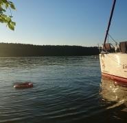 wakacyjny obóz żeglarski Mazury