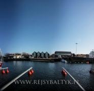 morski port na bałtyku