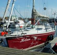 jacht na bałtyku