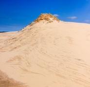 piasek nad morzem