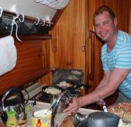 kucharz na jachcie