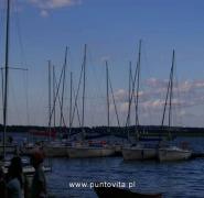Zacumowane jachty na Mazurach - Lato 2010