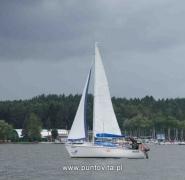 Żeglowanie na mazurskich wodach - lato 2011