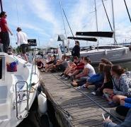 przygotowanie do obozu żeglarskiego 2017