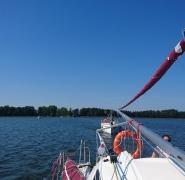 żeglarski obóz dla dzieci Mazury