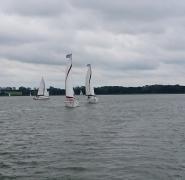 żeglujące jachty Mazury