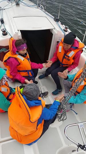 jachting aktywność fizyczna