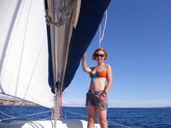 justyna stępka - założycielka szkoły żeglarskiej puntovita