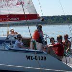 Wędrowny obóz szkoleniowy na patent Żeglarza Jachtowego dla studentów i dorosłych – Mazury 14 dni