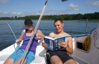 obóz szkoleniowe na patent żeglarza jachtowego dla młodzieży - mazury
