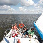 Wędrowny obóz szkoleniowy na patent Żeglarza Jachtowego – Mazury 14 dni, 14-17 lat