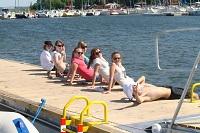 turystyczny obóz żeglarski dla młodzieży na Mazurach