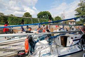 wędrowny obóz żeglarski mazury