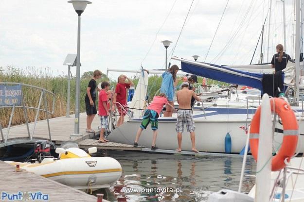 kursy i szkolenia żeglarskie dla dzieci i młodzieży