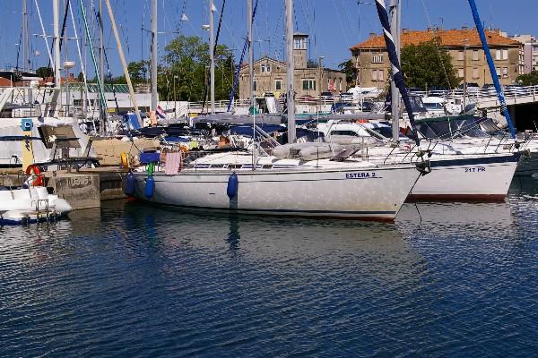nasz port żeglarski nad morzem adriatyckim - Zadar