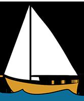 typ jachtu żaglowego słup