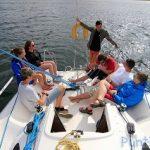 Dzień z życia żeglarza na Mazurach