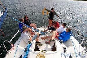dzień z życia żeglarza