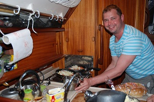 gotowanie na jachce