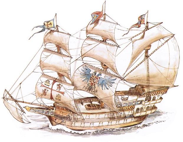 Hiszpański galeon