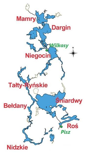 mapa mazur