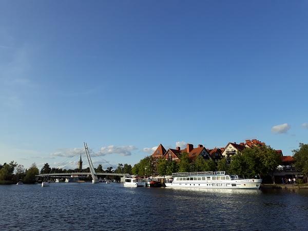 most wiszący Mikołajki