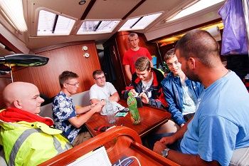 szkolenie żeglarskie na Bałtyku