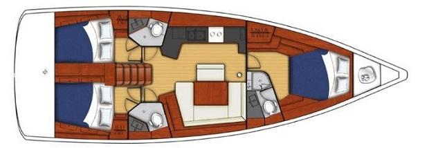 jacht Beneteau Oceanis 45