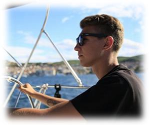 Michael Frey instruktor żeglarstwa