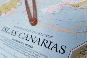 Wyspy Kanaryjskie na mapie
