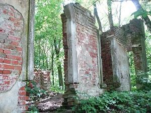 wyspa Gilma - ruiny