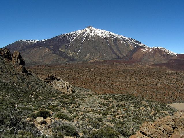 najwyższy szczyt archipelagu teide na teneryfie